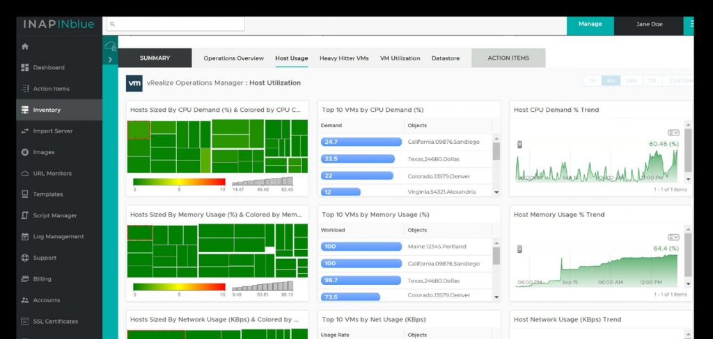 Dedicated Private Cloud Intelligent Monitoring